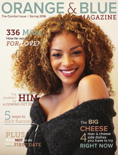 Orange and Blue Magazine